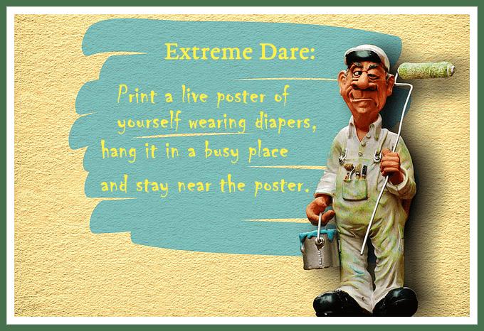 extreme diaper dare meme